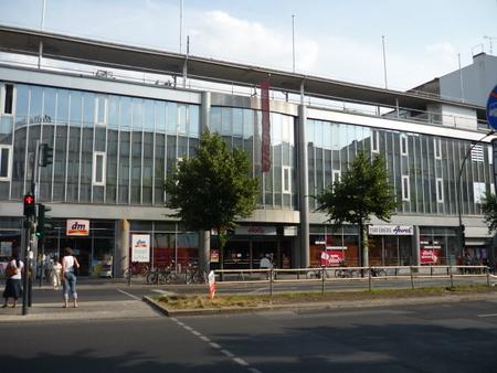 Das geschlossene Hertie-Kaufhaus in Berlin Schöneberg