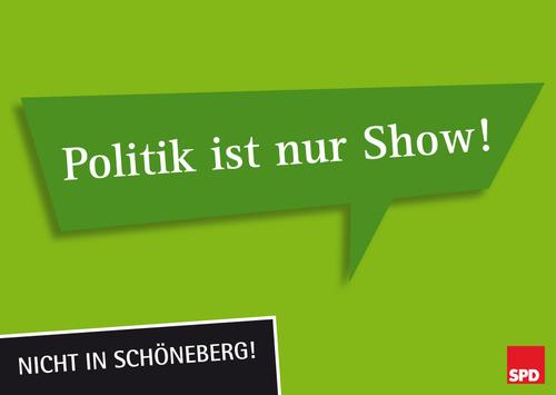 Politik ist nur Show